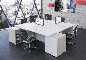White Executive Office Furniture