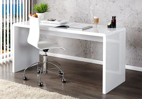 Choosing To Go High Gloss Will Not Only Benefit Your Appearance Now, But  Also The Longevity Of Your Office Furniture In The Future.