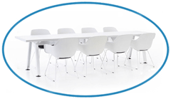 White Office Furniture Clean Look