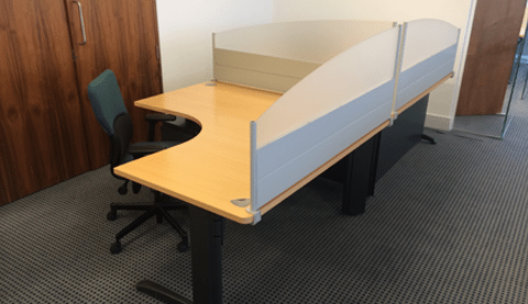 Steelcase™ Desk partition