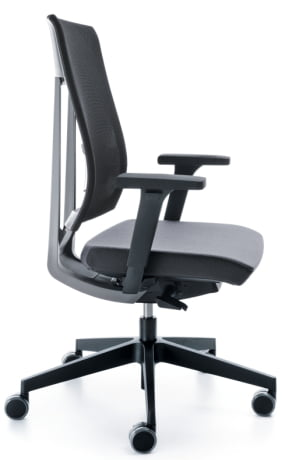 Xenon Ergonomic Chair Side View
