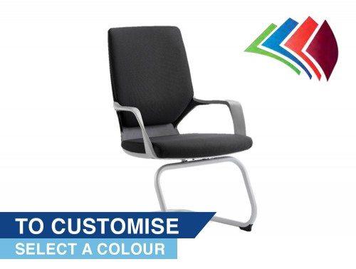 Xenon Visitor Cantilever Chair Bespoke