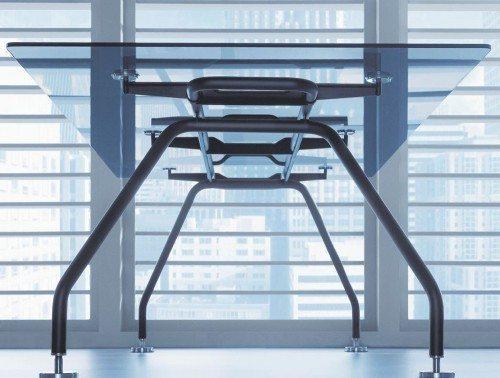 Xeon Executive Glass Desk