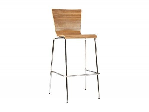 Z45 Groovy Stackable Stool in Zebrano
