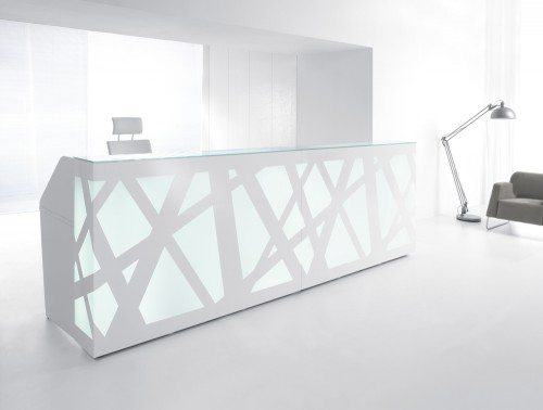 Zig zag Reception Counter LED Lights 2