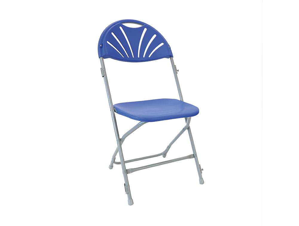 Zlite Folding Fan Back Chair