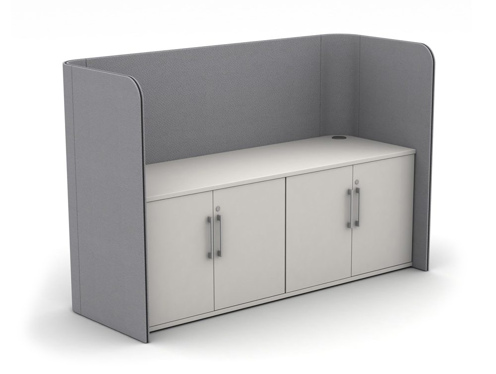 Zone Double Storage Unit