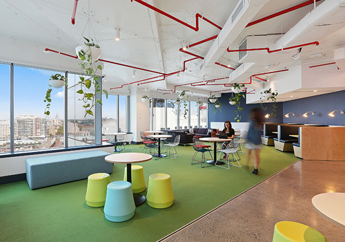Funky Breakout Areas for Office Canteen