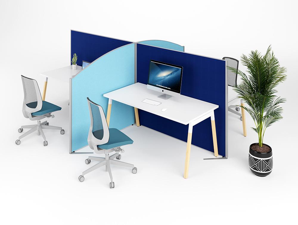 Office standing screens