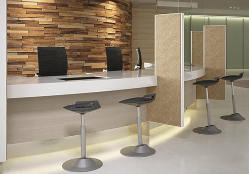 high table workstations and ergonomic stalls