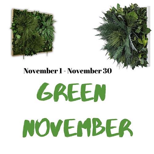 green month november