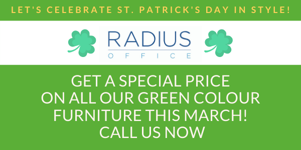 Green colour furniture promo march