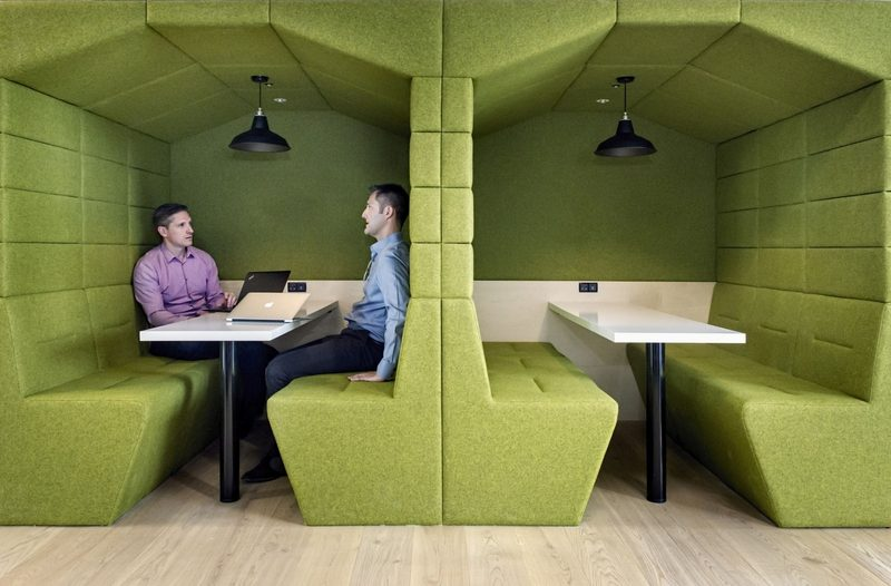 Furniture matching office colours