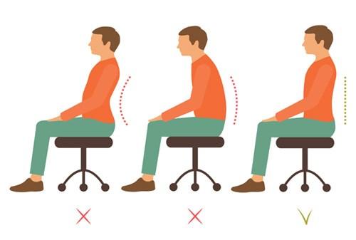 Good posture guide