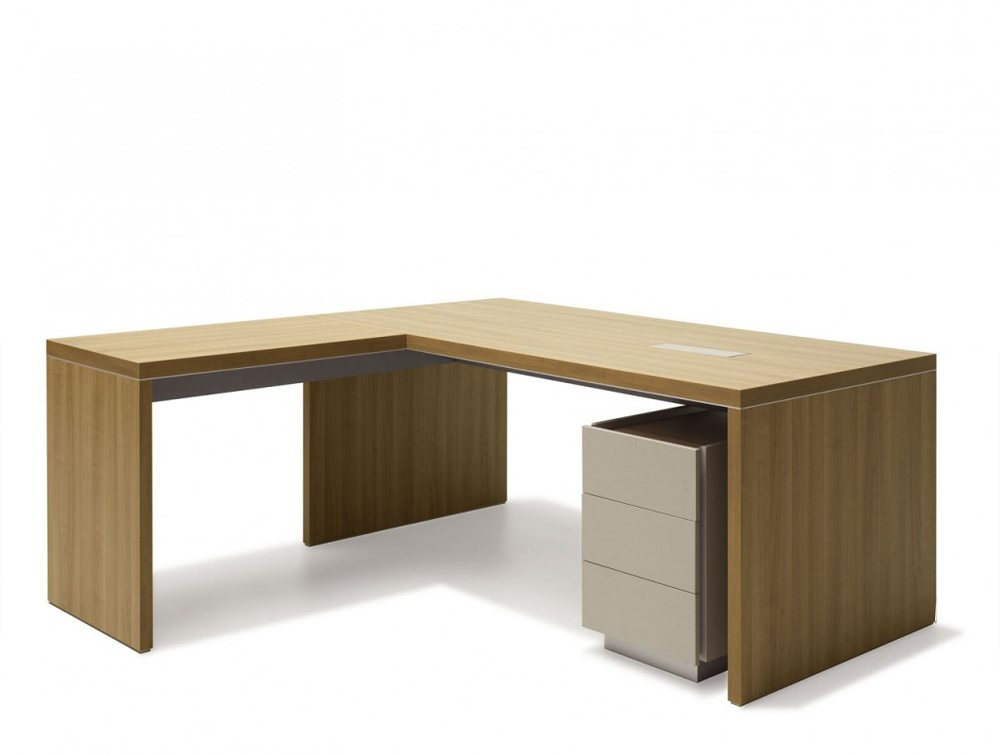 Ostin Executive Office Desk with Drawers