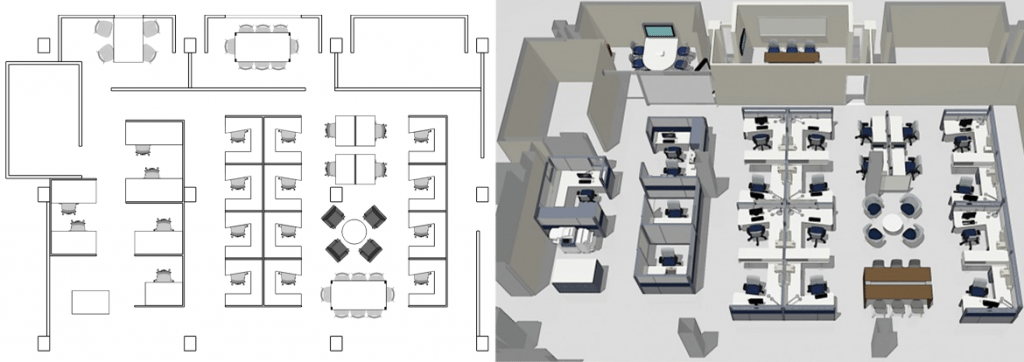 Office Floor Plan Design. Office Furniture Layout