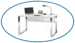 High-Gloss-Home-Office-Desk-in-White