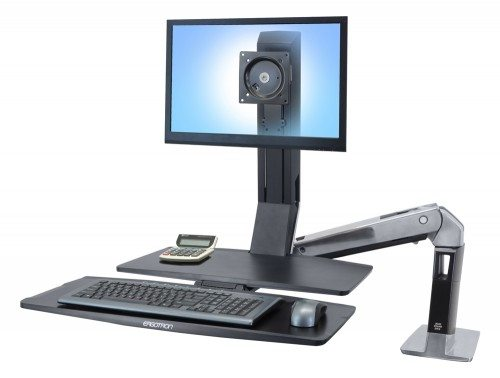 Ergotron WorkFit A with Worksurface