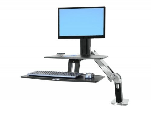 Ergotron WorkFit A with Suspended Keyboard