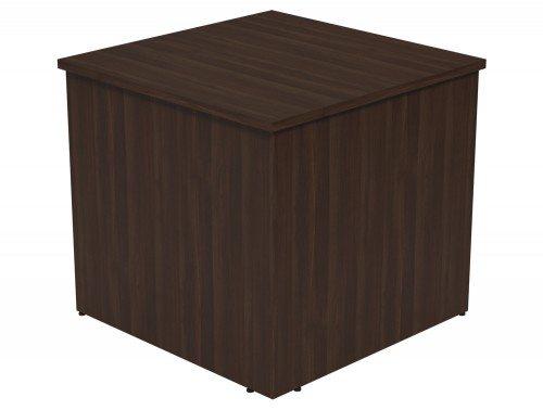 Ashford Modular Reception 90 Degree Corner Desk DW in Dark Walnut