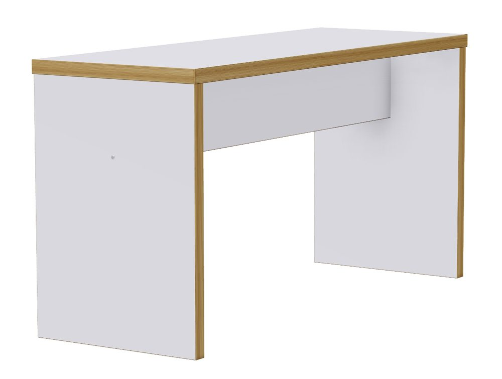 Block White Canteen Poseur Table - 1300mm