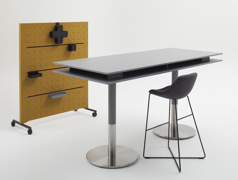 Balma Plus Hightop Coffee Table with Chair