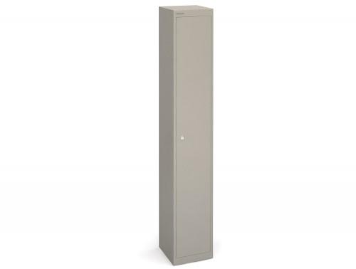 Bisley CLK121g-305mm Grey 1 Door Locker