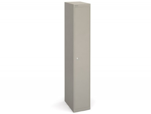 Bisley CLK181g-450mm Grey 1 Door Locker
