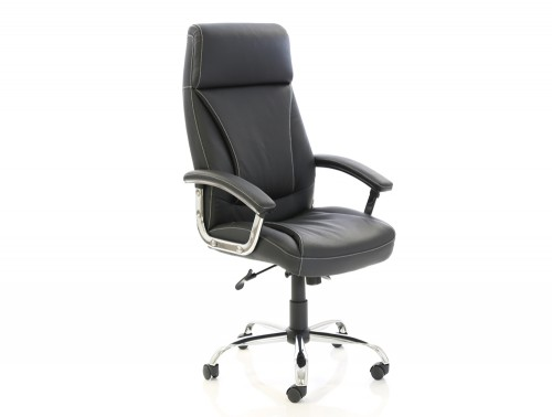 Dynamo Penza Black Executive Office Leather Chair Feature
