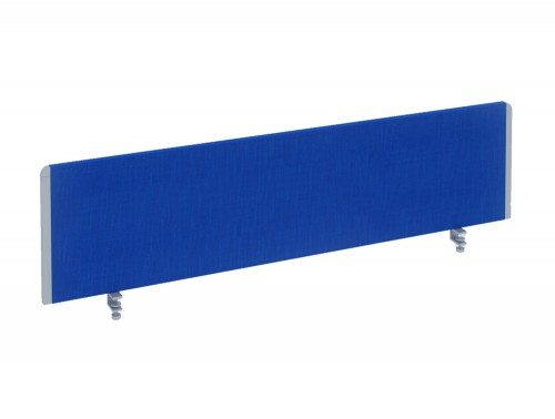 Dynamo Straight Desk Screen in Blue