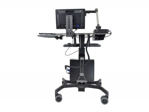 Ergotron TeachWell Mobile Digital Workspace Back Angle