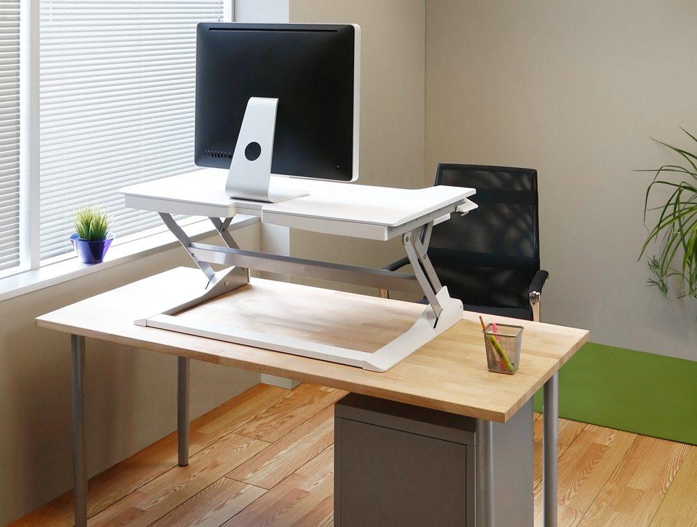 Ergotron Workfit Tl Sit Stand Desktop Workstation Radius