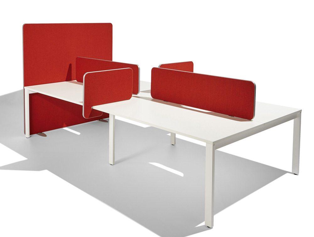 Flite Freestanding Screen Curved Radius Office Uk