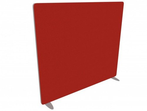 Flite straight freestanding screen in green