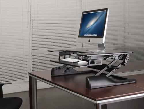 Freedom Desk Black with Mac