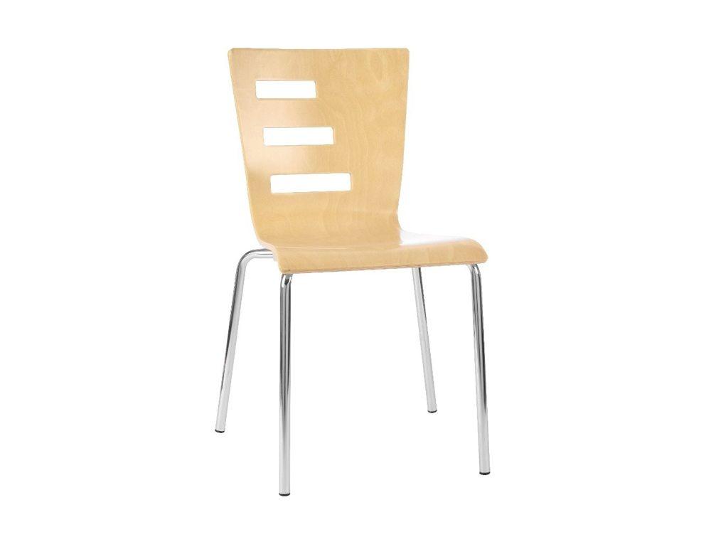 Groovy Stackable Chair In Beech Radius Office Uk