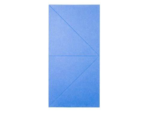 Gaber Diamante Acoustic Wall Panel in Blue