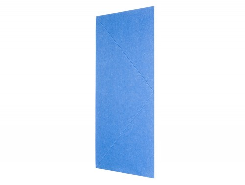 Gaber Diamante Acoustic Wall Panel in Blue Side
