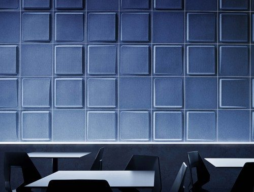 Gaber Fono Acoustic Wall Panels in blue