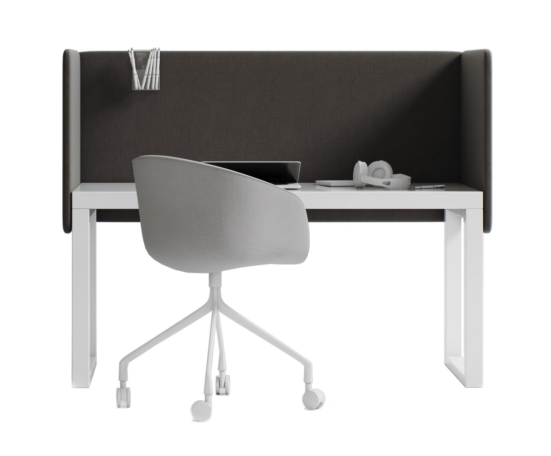 HSH-DUO-D Hush Duo Desk Acoustic Screens