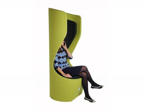 Hide Acoustic Office Pod High Back