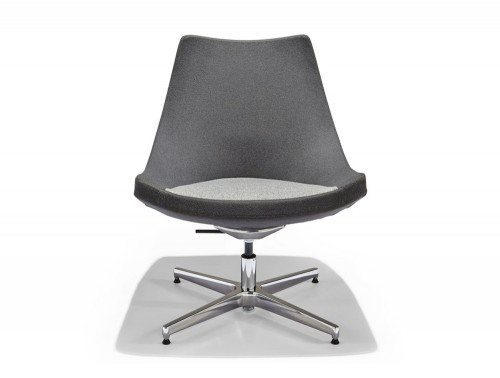 Identity Pitcher Reception Chair Front Angle