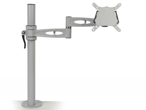 Kardo Single Monitor Arm Silver PMA521-SV