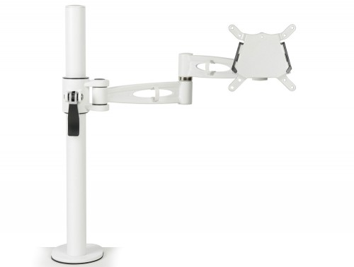 Kardo Single Monitor Arm White PMA521-WH