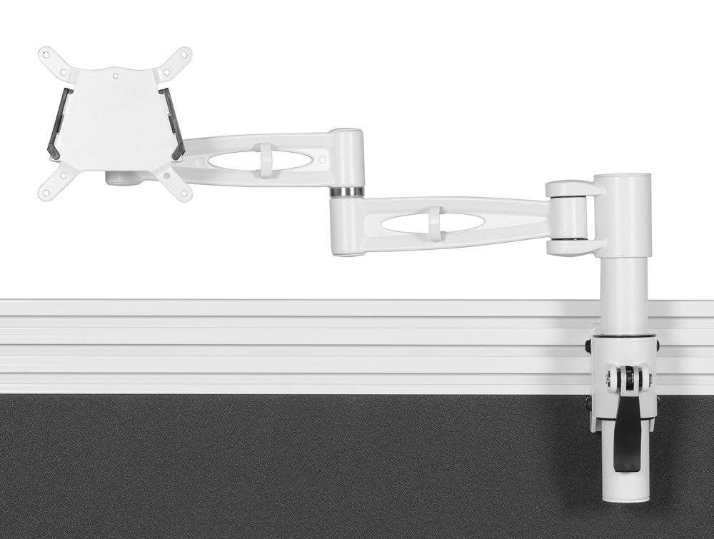 Kardo Tool Rail Monitor Arm - White
