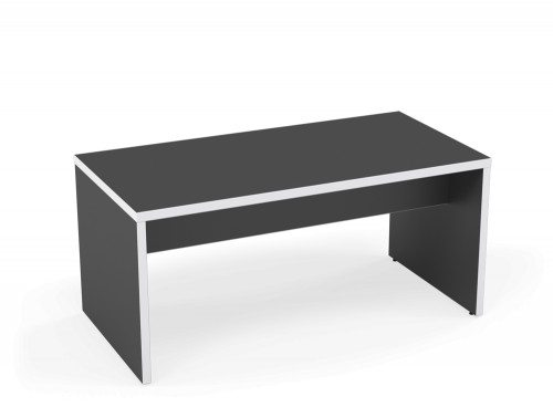 Kito Canteen Bench System Low Table GR-WH-1680 Graphite/White in 1600 x 800mm