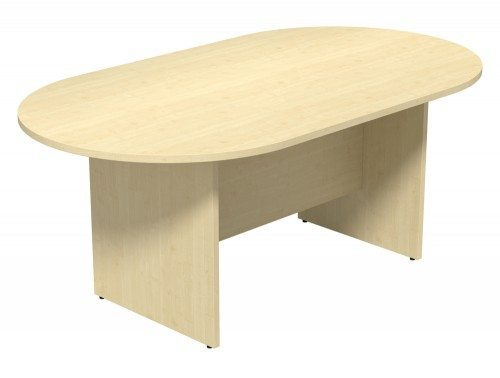 Kito Meeting Oval Meeting Table Panel Leg Base Single Piece Size 1800 Mm X 1000 Mm 2400 Mm X 1200 Mm Mp 1810