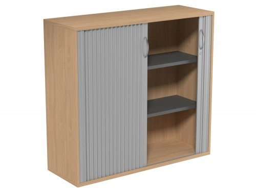 Kito Tambour Unit 1130-SLV-BE in Beech 3-Level
