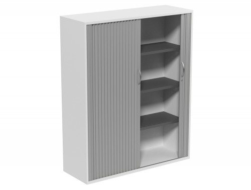 Kito Tambour Unit 1490-SLV-WH in White 4-Level