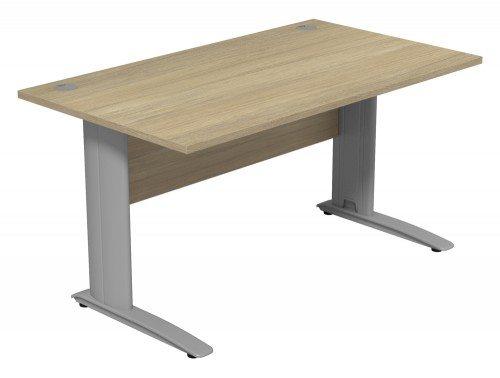 Komo Komo Straight Desk UO-SLV-1480